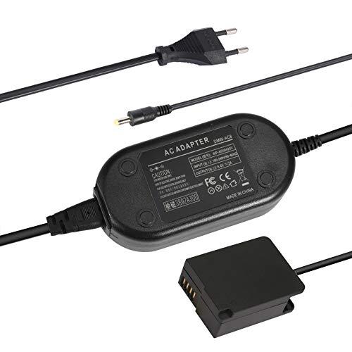 SinFoxeon DMW-DCC8 mit DMW-AC8 Kamera AC Netzteil Netzadapter für Panasonic G7 G70 G6 G5 G80 G81 GX8 GH2 FZ1000 FZ200 FZ2000 FZ300 Lumix DMC-FZ1000 DMC-FZ300 DMC-G7