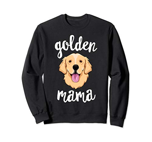 Golden Retriever Mama Mother Fur Mom Dog Puppy Adopt Sweatshirt