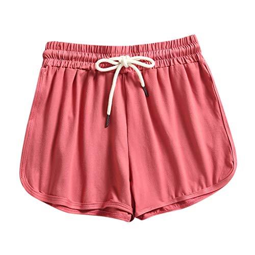 WINTOM Yoga Hosen Kurze Hose Damen Jeans High Waist Sport Kurze Hose Fitness Shorts Damen Kurze Hosen Damen