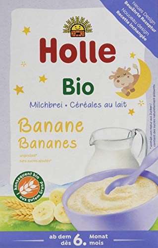 Bio de leche brei Plátano