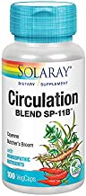 Solaray SP 11B Circulation Blend Supplement, 100 Count
