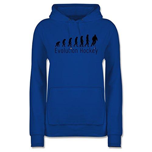 Evolution - Evolution Hockey - L - Royalblau - JH001F_Hoodie_Damen - JH001F - Damen Hoodie und Kapuzenpullover für Frauen