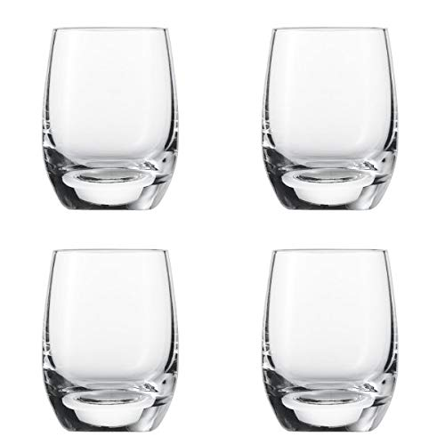 Schott Zwiesel - for You - Schnapsglas, Stamper, Pinnchen - 4er-Set - 75 ml - Maße (ØxH): 4,7 x 6,3 cm