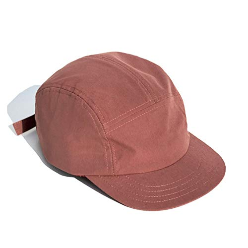Clape Short Brim Baseball Cap Quick Drying 5 Panel Sun Hat Cap