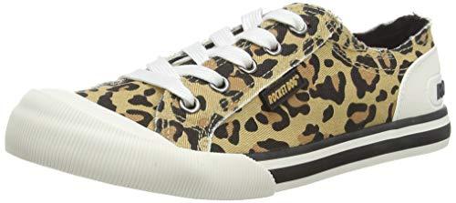 Rocket Dog Damen Jazzin Sneaker, Braun (Kenia Natural C22), 39 EU