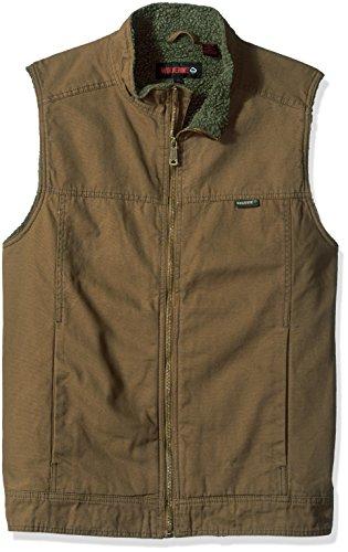 Wolverine Men's Big Porter Sherpa Lined Vest, Chestnut, X-Large/Tall