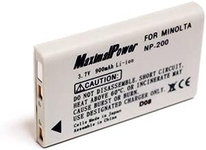 minolta np 200 digital camera battery