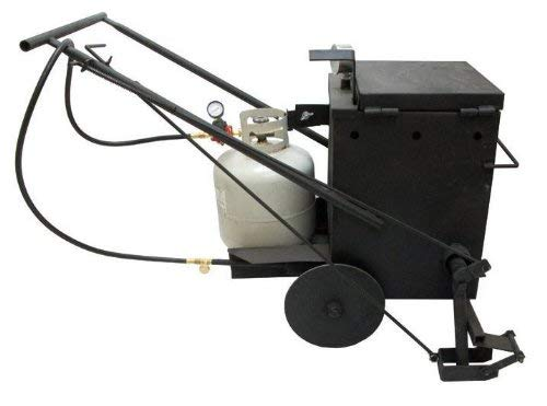 Portable Asphalt Direct Melter and Applicator - 10 Gallon