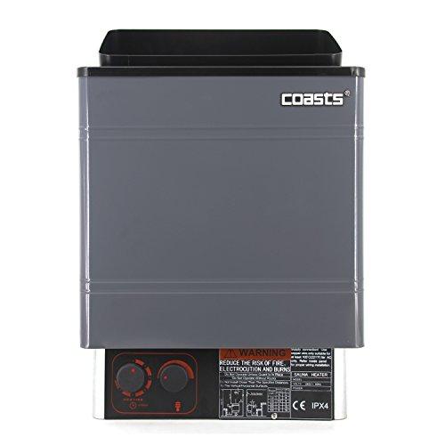Coasts AM60MI 6 kW Wet and Dry Sauna Heater Inner Controller for Spa Sauna Room