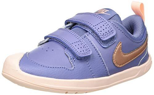 Nike Pico 5 (TDV), Sneaker Unisex niños, World Indigo/Metallic Red Bronze, 19.5...