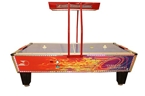 Best Review Of Gold Standard Games Gold Flare Elite Home Air Hockey Table
