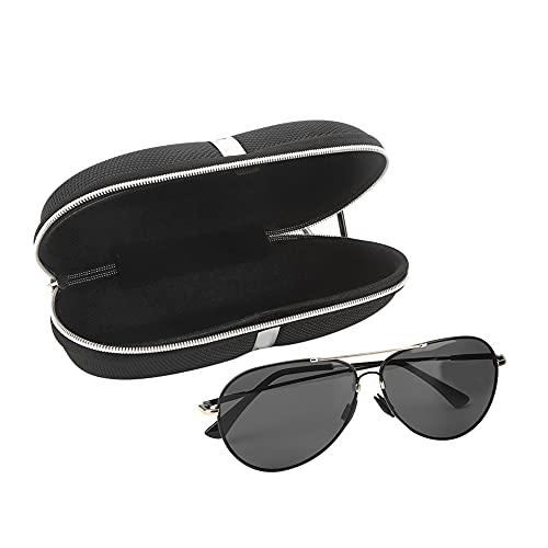 Changor Gafas de Sol, TAC y Metal 14x15x5cm HD Noche Visión Bifocal Polarizado Gafas de Sol por Exterior Deportes