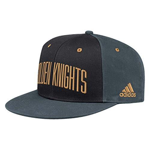 adidas Vegas Golden Knights 2019/20 NHL Flat Brim Snapback Cap, One Size