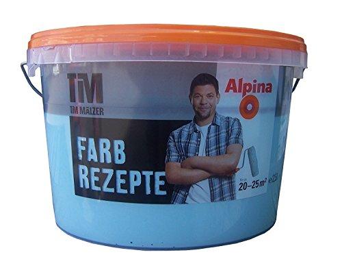 Alpina Farbrezepte, 2,5l, Luftschloss, Wandfarbe für Innen, matte Innenfarbe