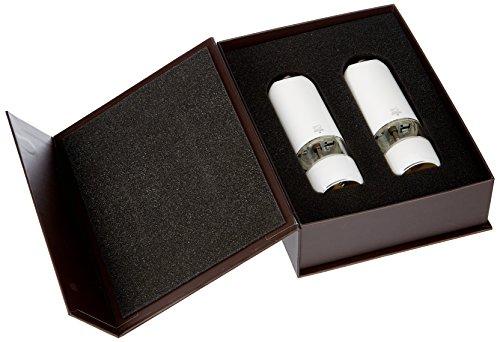 Peugeot Alaska Electric Duo Pepper and Salt Set, White