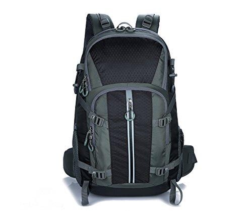 Hiking waterproof Sports Traveling Backpack 40 Liter for Men Women (Black)