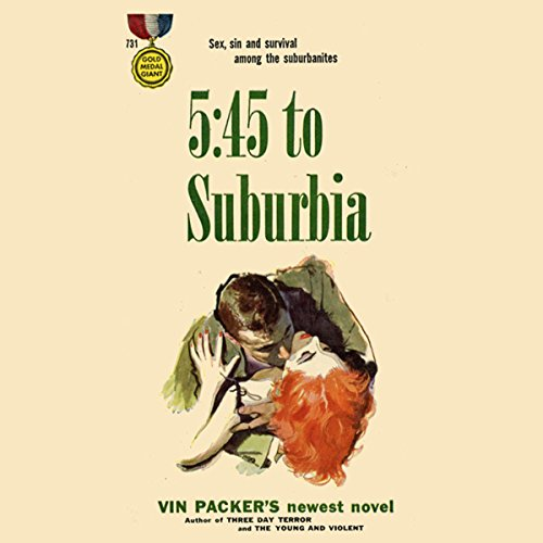 5:45 to Suburbia audiobook cover art