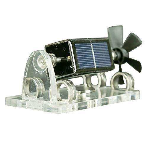 Poxl Mendocino Solar Motor, Propeller Magnetische Levitating Motor Bausatz Solar Engine Modell Physik Lernspielzeug