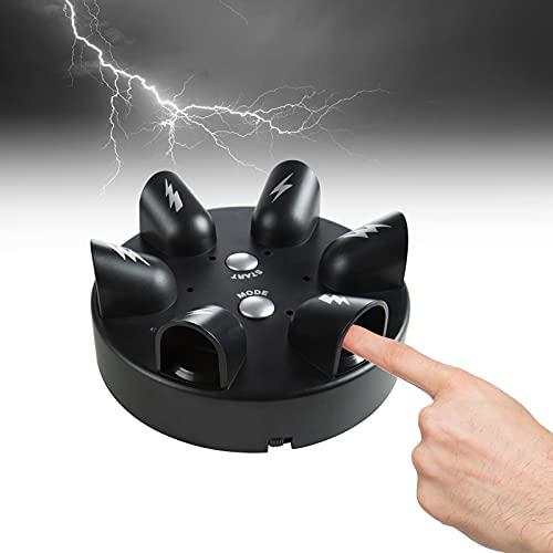 Descarga eléctrica Detector, Comius Sharp Rueda de Ruleta con Dedos Juego impactante, Mentiras del Detector Juego Verdad del mentiroso, Juguete de polígrafo la Descarga eléctrica para Fiesta
