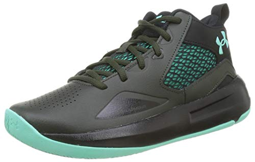 Under Armour Lockdown 5, Zapatillas de Baloncesto Hombre, Verde Barroco Negro Comet Green 300, 40.5 EU