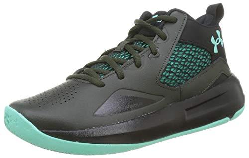 Under Armour Lockdown 5 Zapatillas de Baloncesto, Unisex Adulto, Verde (Baroque Green/Black - 300), 44 EU