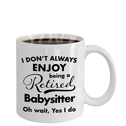 Pensioen Geschenken voor Babysitter Koffie Mok Beste Dank U en Waardering Ideeën voor Gepensioneerde Mannen Vrouwen Vriend Coworkers Geheel in 2018