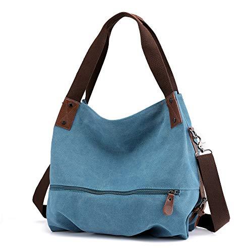 MANYIP Damen Henkeltaschen,Handtaschen & Schultertaschen, Große Kapazität,Top-Griff-Taschen mit abnehmbarem/verstellbarem Schultergurt. Leinwand Handtaschen.