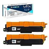 LCL Cartucho de tóner Compatible TN243 TN-243 TN243BK TN-243BK (2 Negro) Reemplazo para Brother HL-L3210CW HL-L3230CDW HL-L3270CDW MFC-L3710CDW MFC-L3750CDW MFC-L3770CDW MFC-L3730CDW DCP-L3510CDW