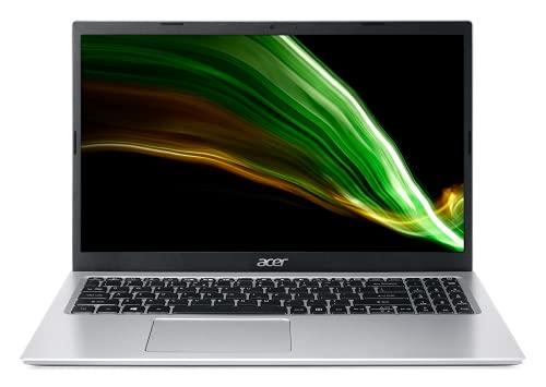 Acer Aspire 3 11th Gen Intel Core i3-1115G4 Processor 15.6-inch (39.6 cms) Full HD IPS Laptop (4GB RAM/1TB HDD/W10H/1.7 Kg/Silver), A315-58, Large