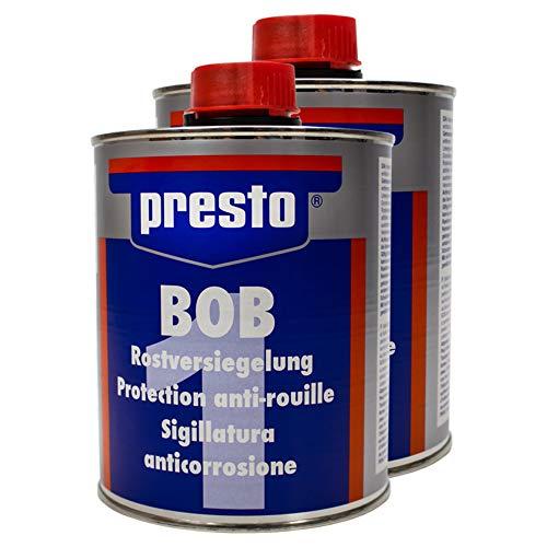 Presto 2X 603734 BOB ROSTVERSIEGELUNG ROSTVORBEHANDLUNG VERFESTIGT ISOLIERT 750