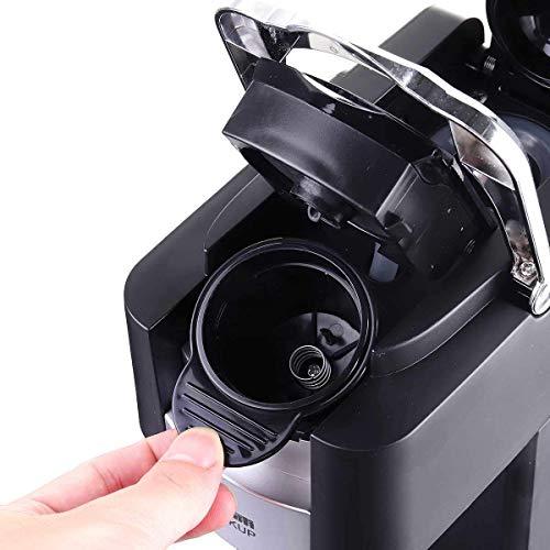 NLRHH Máquina de café, Cápsula eléctrica Presión Espresso Máquina de café Cafetera...
