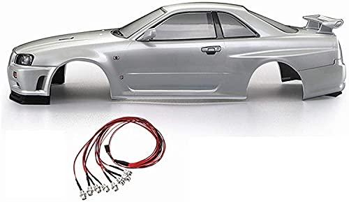 GzxLaY A estrenar 48644 RC Carry Shell 257mm Adecuado para Nissan Skyline...