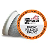 Best Decaf K Cups - SF Bay Coffee OneCUP DECAF French Roast 80 Review