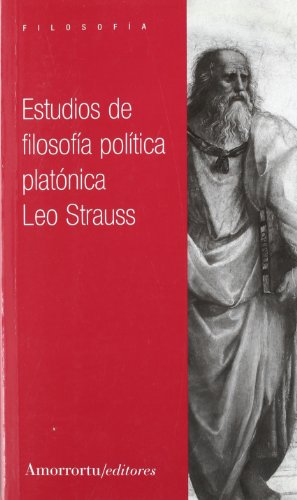 Estudios De Filosofía Política Platónica