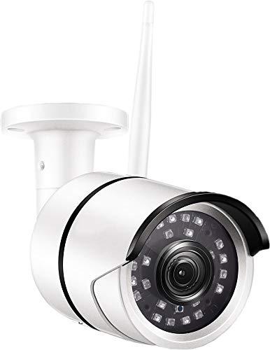 Überwachungskamera, IP, WLAN, Smarthome Kamera. Intelligent, für den Außenbereich geeignet. Mit Bewegungserkennung und Nachtsicht. App integriert mit Datenverschlüsselung!