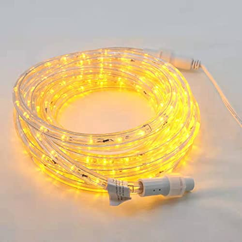 Asparkle UL Listed 18Ft 216 LED Flexible Rope Lights Kit, Indoor/Outdoor Lighting, Home, Garden, Patio, Shop Windows, Christmas, New Year, Wedding, Birthday, Party, Event (Warm White)