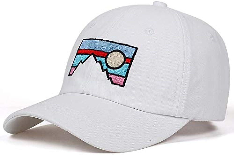 Chlally Sunset Landscape Snapback Caps Cotton% Baseball Cap for Adult Men Women Hip Hop Hat
