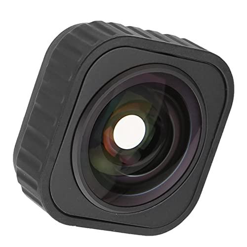 KUIDAMOS Weitwinkelkameraobjektiv, Sportkamera Weitwinkelobjektiv Optisches Glas 155 Grad Einfach zu bedienen für Sportkameras