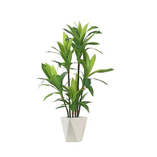 FABAX Duftende Drachenblut künstlicher Baum Pflanzen Bonsai-Fälschungs-Baum-Fälschungs-Topf Ornamente Wohnkultur Hotel Garden Dekoration (Color : A)