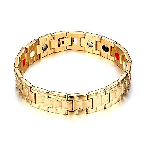Europese en Amerikaanse stijl magneet armband Trend Veelzijdige multi-color mannen armband Boutique mannen en vrouwen armbanden gepersonaliseerde creatieve sieraden.