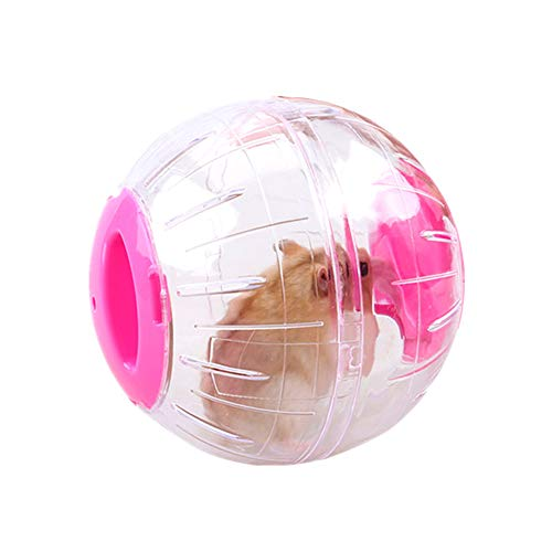 Gofeibao Hamsterkugel Hamster Zubehör Hamster Laufball Übungs Ball Joggingball Kleintiere Spielzeug Langeweile Beseitigen Und Die Aktivität Steigern pink