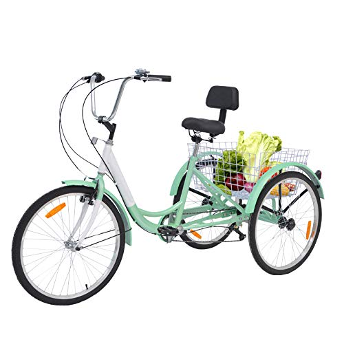 3 Wheel Bikes for Adults with Gears - Barbella Adult Tricycle