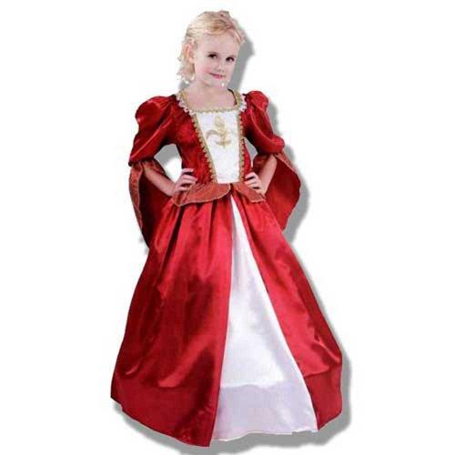 Disfraz niña Mosquetera - talla 7 - 10 años