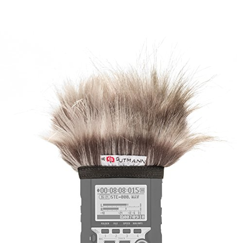 Gutmann Mikrofon Windschutz für Olympus LS-P1 / LS-P2 / LS-P4 Sondermodell Koala limitiert