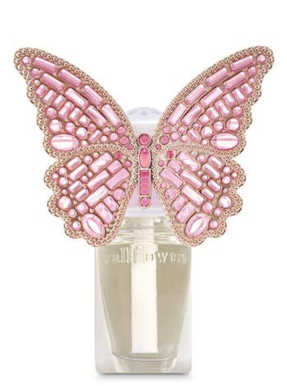気味の悪いぴったり衝突コース【Bath&Body Works/バス&ボディワークス】 ルームフレグランス プラグインスターター (本体のみ) ジェムストーンバタフライ ナイトライト Wallflowers Fragrance Plug Gemstone Butterfly Night Light [並行輸入品]