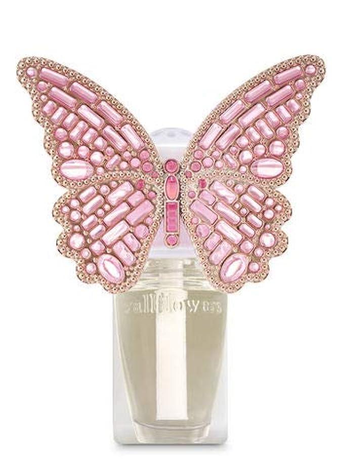案件くちばし昨日【Bath&Body Works/バス&ボディワークス】 ルームフレグランス プラグインスターター (本体のみ) ジェムストーンバタフライ ナイトライト Wallflowers Fragrance Plug Gemstone Butterfly Night Light [並行輸入品]
