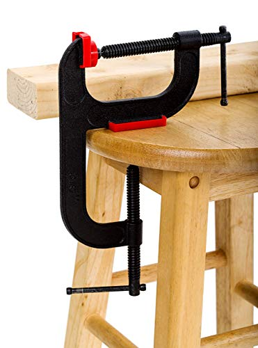 The Patented Double C-Clamp Vise for Woodworkers