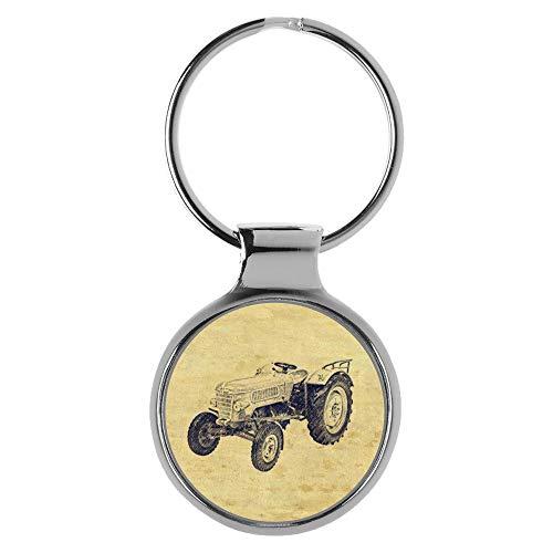 KIESENBERG Schlüsselanhänger Geschenke für Fendt Farmer 2 Traktor Fan A-20455