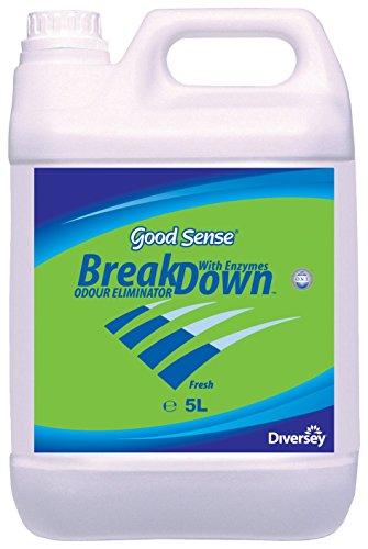 Good Sense 7516770 Eliminador de Olores con Doble Acción Bioenzimática, 5L