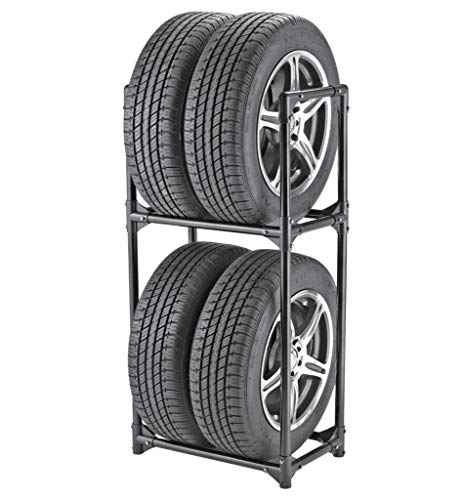 Tire Storage Rack - Two Shelf Wheel Holder BW3510